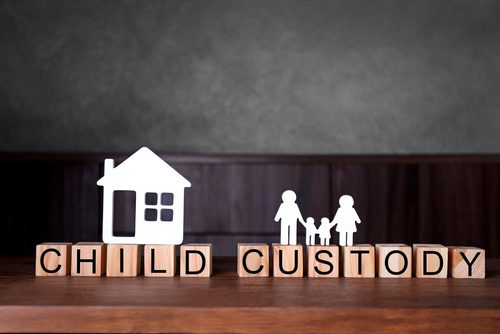 child custody arrangement
